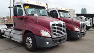 2011 FL Cascadia Day Cabs 500 hp Super 40,s Disc brakes 18 speed