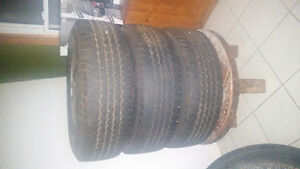 5 tire & rim set for super duty F250 London Ontario image 2