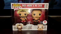 Funko Pop WWE Walgreens Excl Enzo Amore & Big Cass 2 Pack