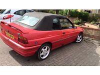 1991 ford escort cabriolet mk5