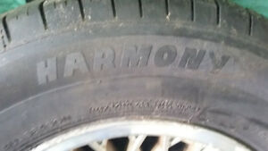 michlelin harmony tires 215-70-R15