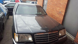 1998 Mercedes Benz S500 S Class - Part Out / Parting Out Regina Regina Area image 1