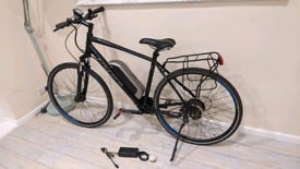 Carrera crossfire e ebike electric hybrid bike,good cond, 700c 29er