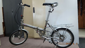 Vélo pliable, folding bike KHS, USA, 6 vitesses,  180$