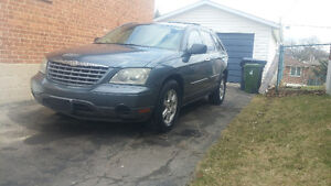 2006 Chrysler Pacifica 5 seat SUV, Crossover