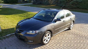 2007 Mazda3 GT, LOW KMS 84KMS, NEW SAFETY, REMOTE START