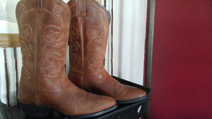 All Leather Cowboy Boots Authentic Nashville Tennessee
