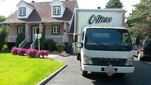 MOVING from 75$/h=2 movers+truck. 514 224 7907  Visa/MC. West Island Greater Montréal image 3