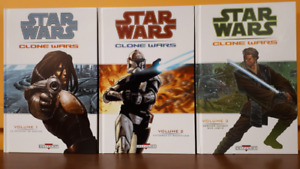 Star Wars Clone Wars hardcovers Éditions Delcourt 2006