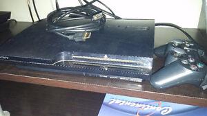 Playstation 3 avec 16 jeux