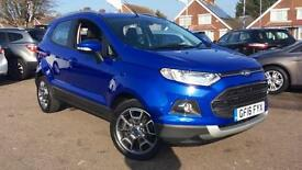 2016 Ford Ecosport 1.5 TDCi 95 Titanium (17in) Manual Diesel Hatchback