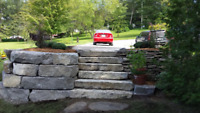 Ty Digz - Excavating - Armour Stone Retaining walls & More