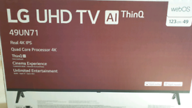 "LG 49"" smart TV **New, Unopened box"