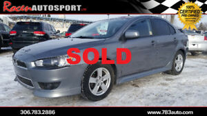 SOLD!!!CERTIFIED 2013 LANCER SE 5SPD  - SUN - YORKTON