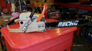 "Echo chainsaw  CS4400  18"" bar (used)"