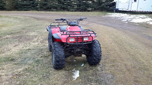 1992 honda fourtrax 350 4x4 ONLY $1900.00
