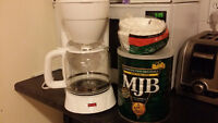 Selling Coffee Maker w/ Ground Coffee and Filters