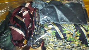 Men Ties Casual and Business in Silk and Polyester