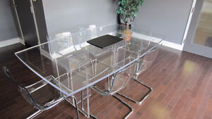 Acrylic Conference Table