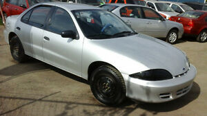 2001 Chevrolet Cavalier...2.2 L Drives Excellent..WEEKEND SALES!