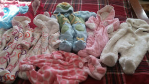 Lots of baby clothes from 0 to 2T Girl or Boy