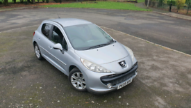 For sale Peugeot 207 sport automatic 1.6 petrol 09 plate 82k mileage