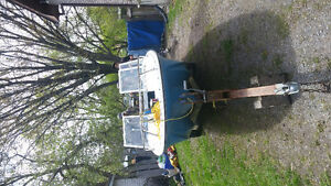 boat motot and trailer water rdy