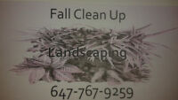 Landscape Fall Clean Up