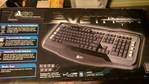 AZIO gaming keyboard Lvetron 3 kb555u