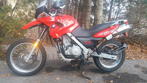 bmw 650 gs in very good condition