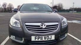 Vauxhall Insignia 2.0CDTI 16V ELITE ECOFLEX Good / Bad Credit Car Finance (grey) 2011