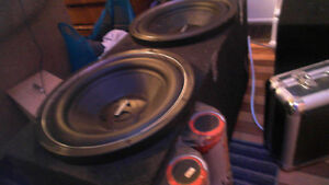 Various High-End Sub Woofers, and amps.