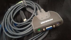 IOGEAR KVM Switch. PS/2 VGA with Audio