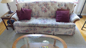 Hide-a-bed Sofa and matching chair