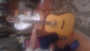 Acoustic/Electric 12 String Fender Guitar