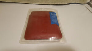 Kobo Ereader Touch Edition Red Leather Case - Brand New