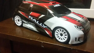 LaTRAX RALLY 1/18TH SCALE powered by TRAXXAS.BRAND NEW!!