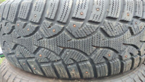 4 Studded Altimax Arctic Winter Tires