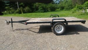 """5'4"""" x 10' utility trailer 3500lb axel"""