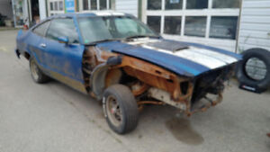 1976 Mustang II parts for sale!