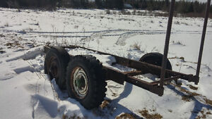 For sale wood trailer