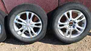 """16 """" mags for sale with Michelin symmetry tires."""