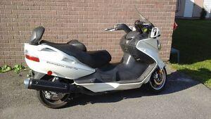moto burhman 650