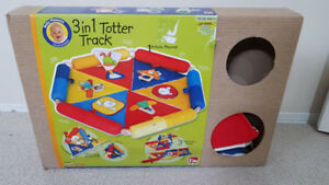 3in1 totter track playmat