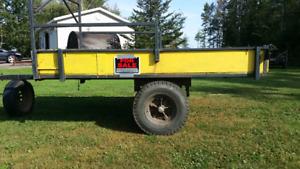 Trailer  heavy duty  9x6