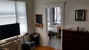 to Sublet : Furnished Apartment Mile-End/Outremont January 2017
