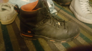 Timberland boots steel toe