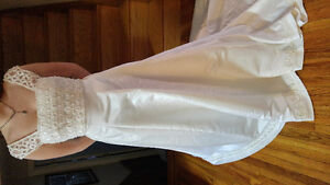 wedding dress for sale size 8-10