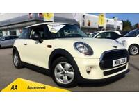 2016 Mini Hatch 1.2 One 3dr Manual Petrol Hatchback