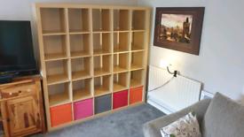 IKEA Expedit 5X5 (now Kallax) Shelving unit/ Room divider.